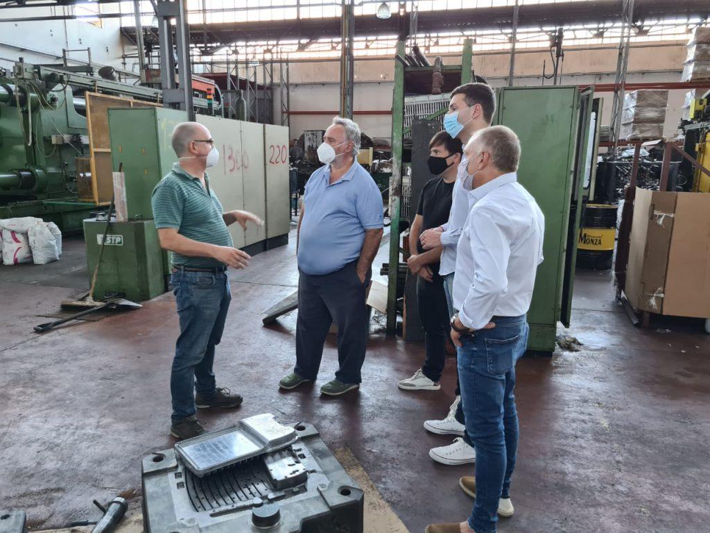 El Bonaerense, Joaquin De La Torre en el Pque Industrial Cortinez de Lujan