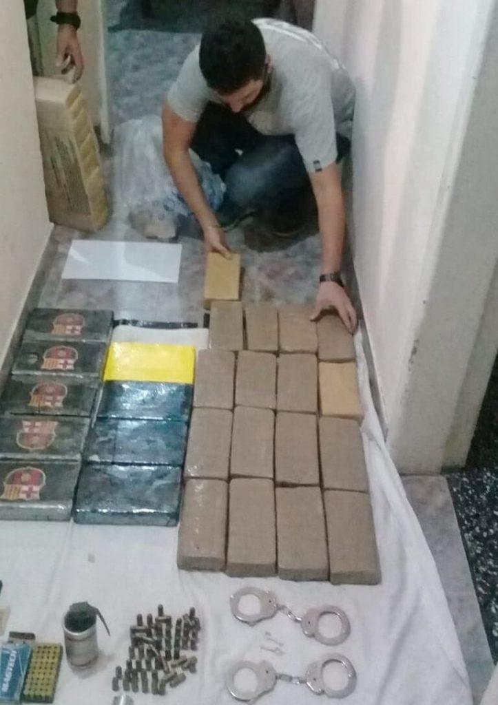 Narcos secuestro de droga en malvinas y san miguel