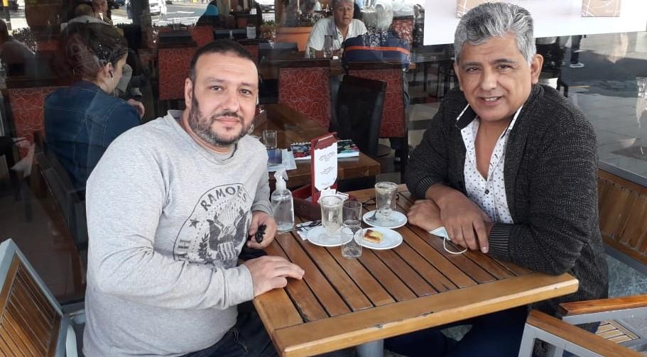 Avellaneda, Martin Saraco y Beto Silva1