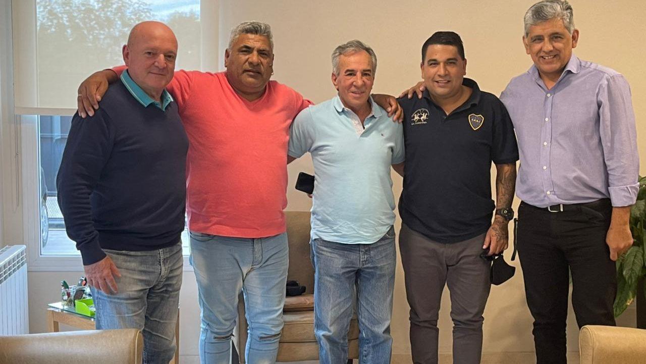 Evolución Peronista, Hugo Oroño, Turko Moreno, Jesus Cariglino, Claudio Moreno Y Alberto Beto Silva
