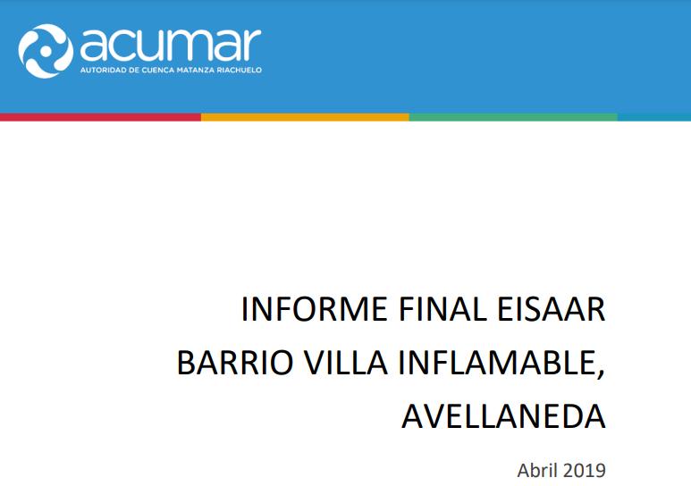villa inflamable informe